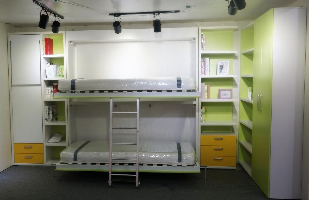 Etagenbett Kinder Holz : Etagenbett für erwachsene nische teilbar rollrost