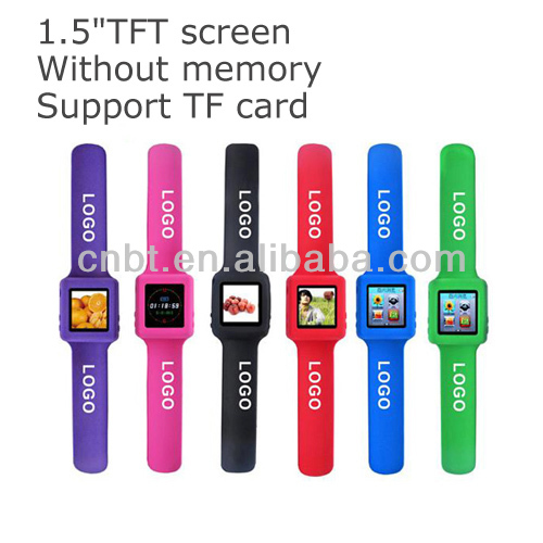 wrist band mp4 player,latest mp4 player