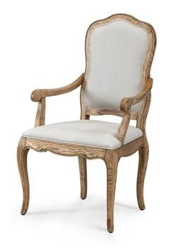 Antique Furniture Bergere Chair European Dining Room Wooden Armchair