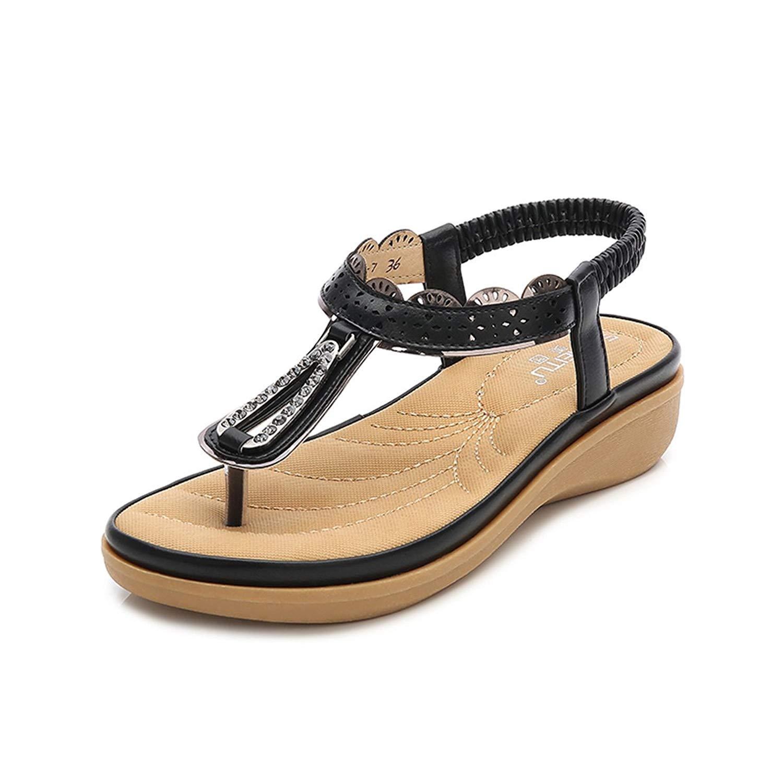 e4f458b1f585 Get Quotations · gracosy Flat Sandals