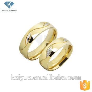 Ring Saudi Arabia 18k Gold Plated Wedding Sets Price