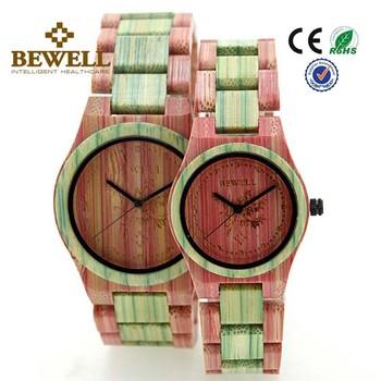 Shenzhen China Grosshandel Mischen Farbe Bambus Uhr