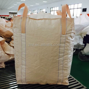 Big Bag Storage 1ton Fibc White Sugar Price Per Ton Bag Polypropylene  Baffled Bags (for