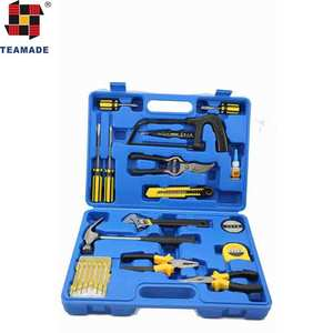 2018 hot selling household repairing tool 22pcs daily usage hand tool set