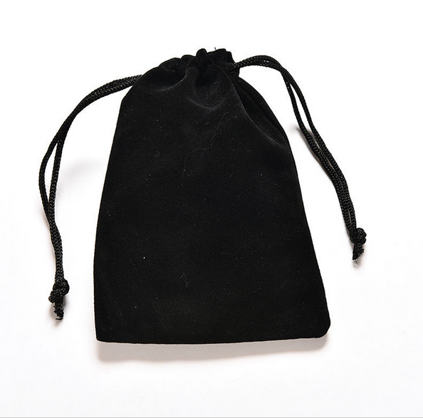 Customized Soft suede Microfiber Drawstring Device Cloth Pouch