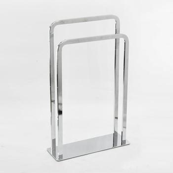 2 rails metalen monteren badkamer gratis staande handdoekenrek