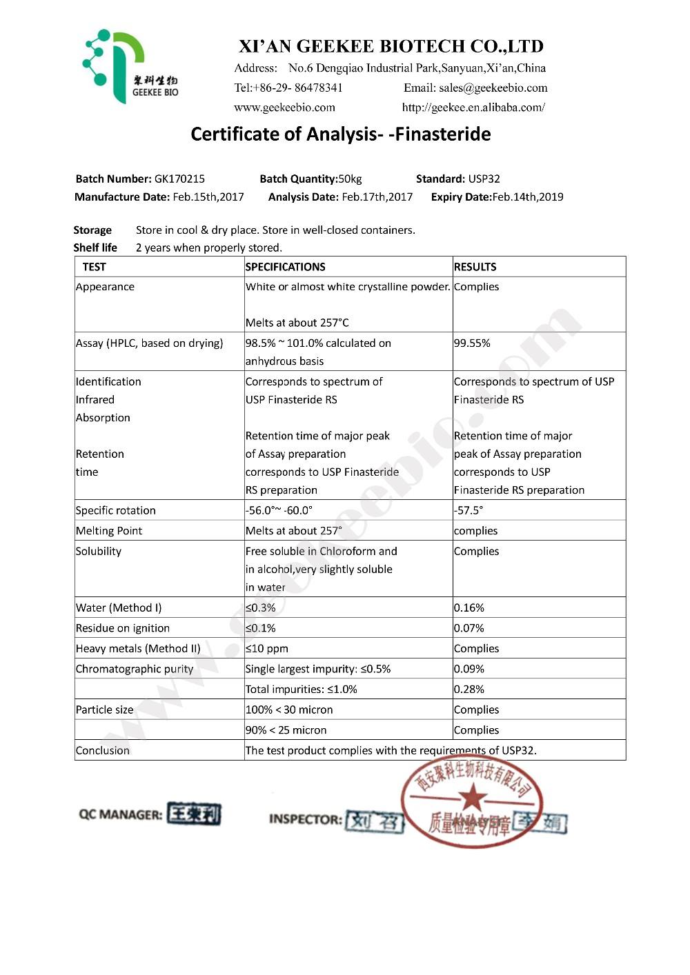 Perawatan Rambut Rontok Usp 99 Bubuk Kapsul Tablet 98319 26 7 Harga Finasteride Buy Finasteride Pil Finasteride Kapsul Finasteride Tablet Product On Alibaba Com