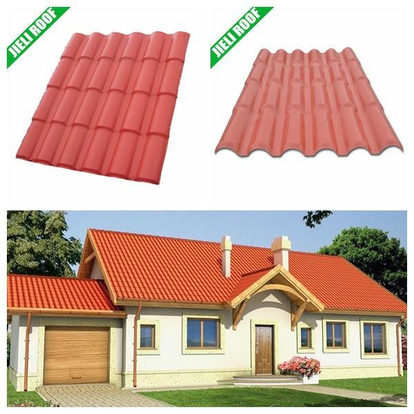 Compuesto tejas pl stico pvc tejas del techo para la casa for Cubiertas para techos livianas