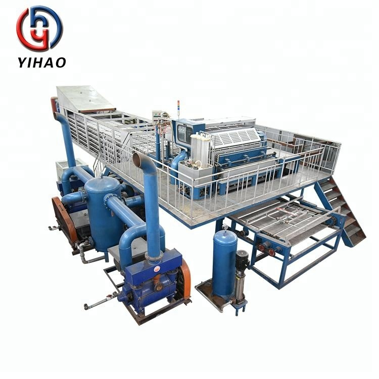 competitive price full automatic recycled paper pulp molding egg tray machine