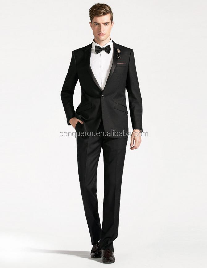 Black Coat Pant Men Wedding Tuxedo Suits - Buy Tuxedo Suits,Mens ...
