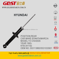 GSTAR Best selling products spare parts auto strut for Hyundai 341192 553113860 5531033901
