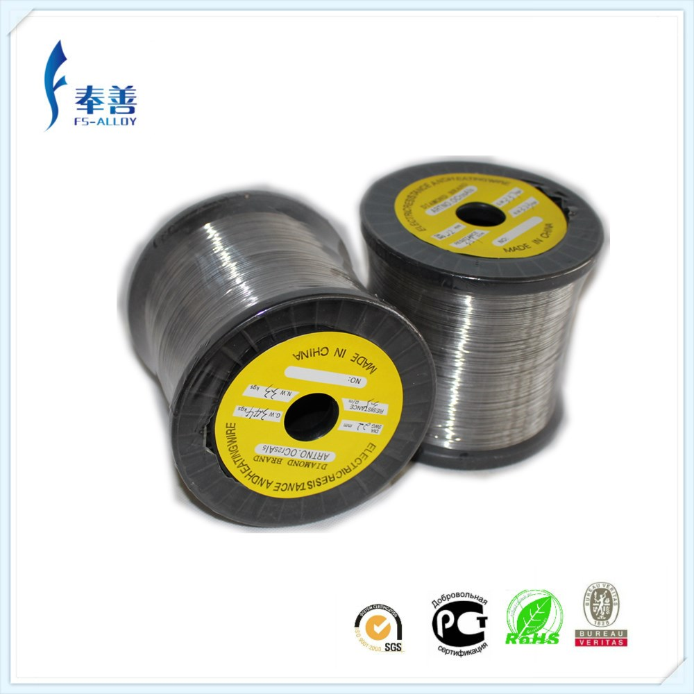 1cr13al4 high resistance electric heating fecral <strong>flat</strong> wire