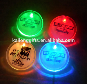 FREE SAMPLE Led Lapel Pin Flashing Lights Badge Name Badges
