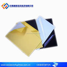 Double sides self-adhesive sheets , adhesive pvc sheet for photo album