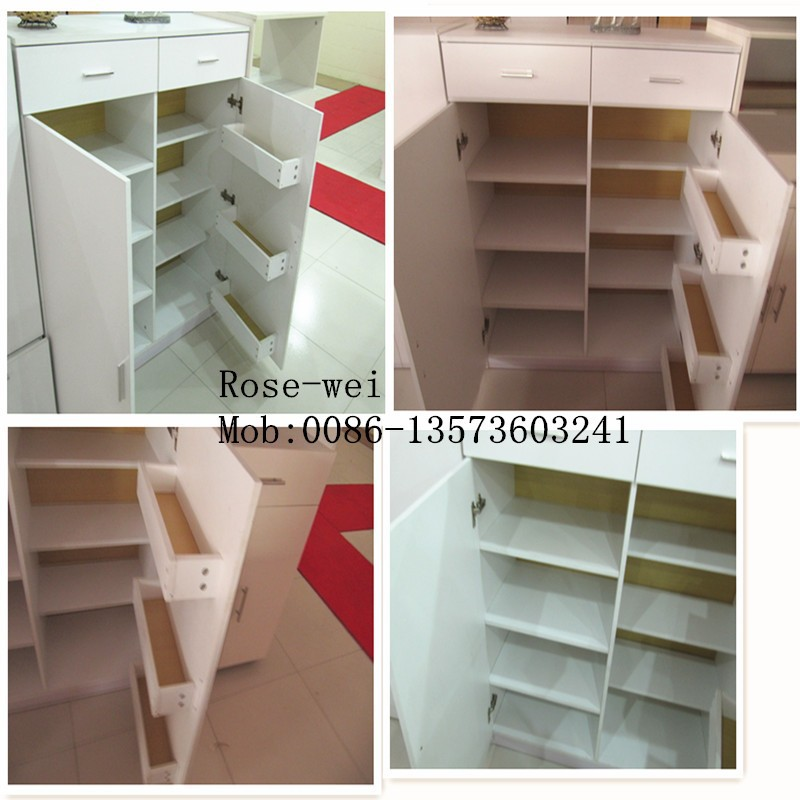 Hot Sale Louver Door Shoe Cabinet - Buy Louver Door Shoe Cabinet ...