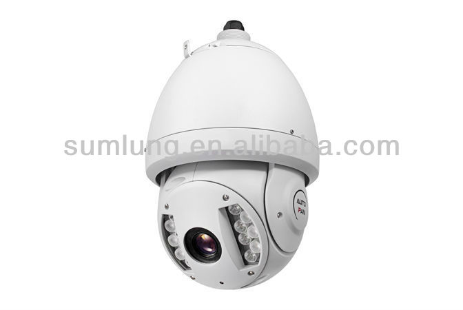 High Speed All-Weather IR Speed Dome IP PTZ Camera 11