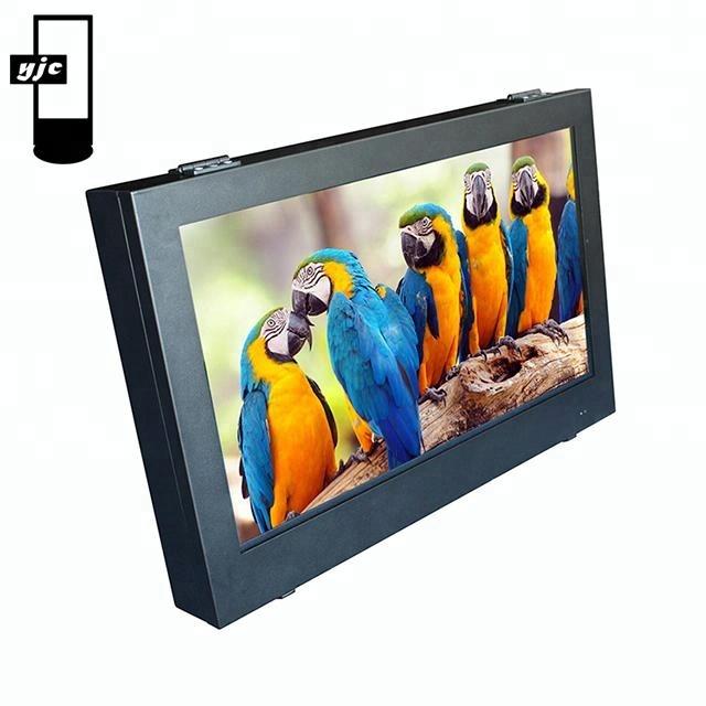 32 43 49 55 65 polegadas IP65 IP67 capacitive touch screen ao ar livre montado na parede parede de vídeo lcd de publicidade