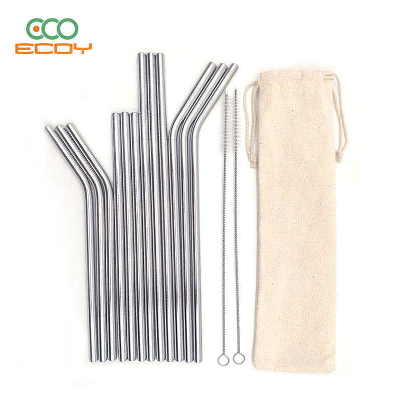 Stainless Steel Metal Straws With Pouch,Bpa Free Straws For Hot Drinks