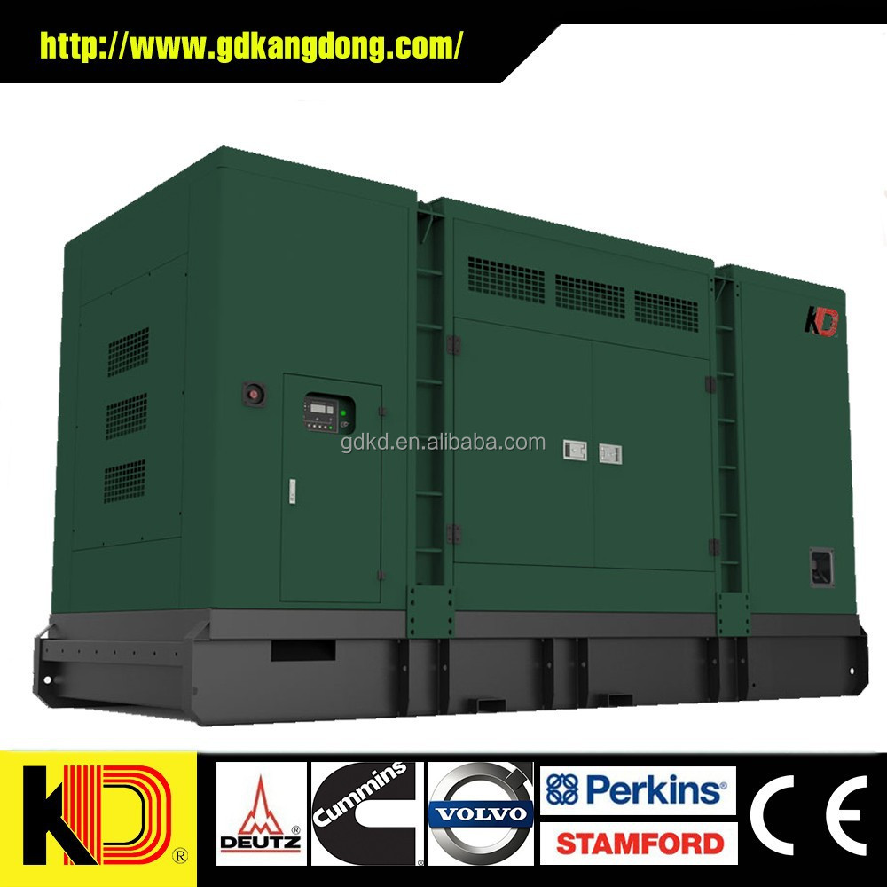 250KVA SILENT BOX DIESEL GENERATOR WITH PERKINS ENGINE 1306A-E87TAG6