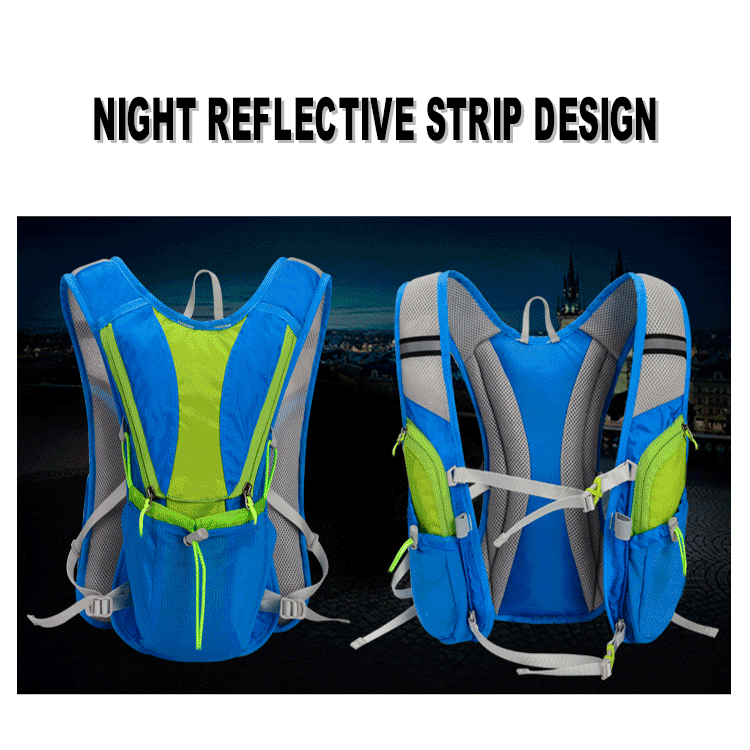 Factory direct hydration Pack with 2L Water Bladder hydration backpack for Cycling Running Walking Hiking