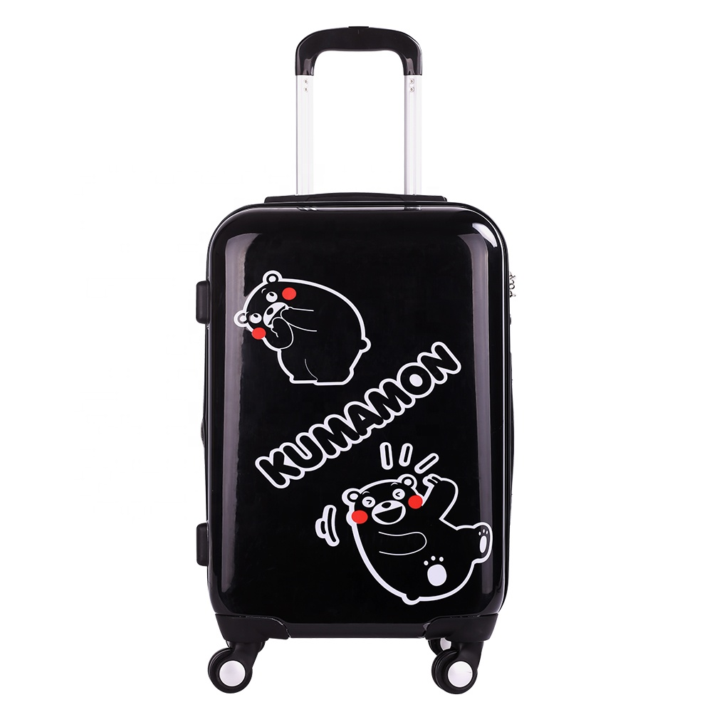 "Hot Sale <strong>ABS</strong> 20"" Kumamon cartoon travelling luggage case"