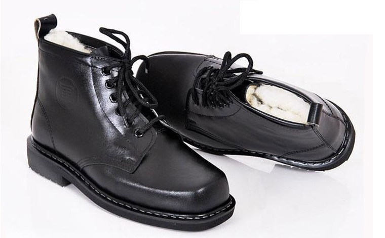 61f0e57b7d4c Men Winter Genuine Leather Oxford Ankle Boots Handmade Combat Boots Men  Genuine Leather Riding Boots Motocycle