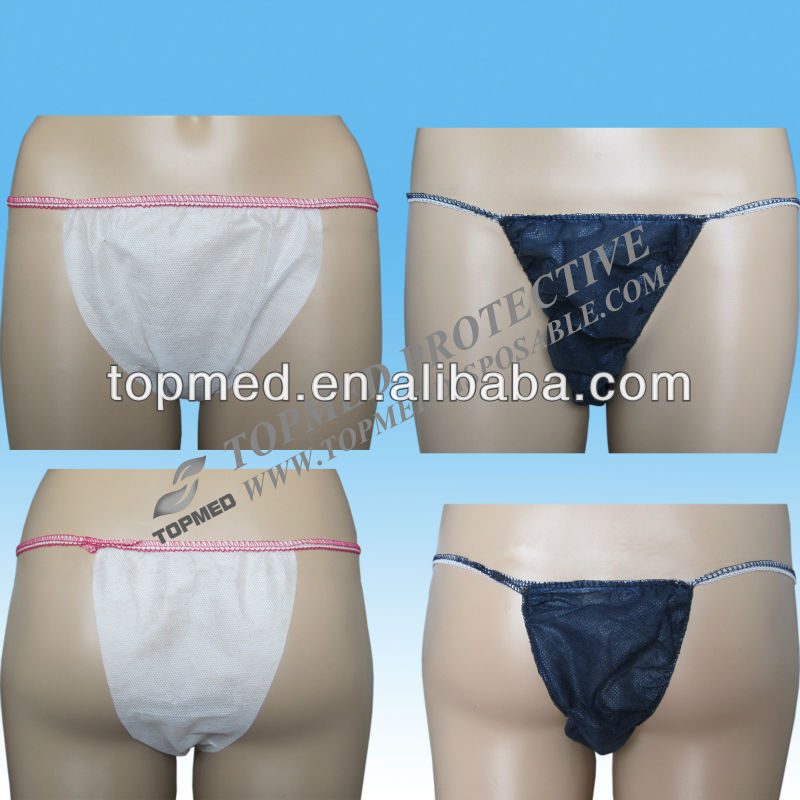 Chinese manufacturer:disposable pink T-back for women/girls