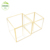 gold square rectangle garden small  big standing hanging outdoor indoor flower pots for plants