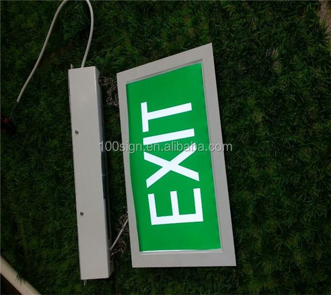 emergency led exit light emergency led exit sign