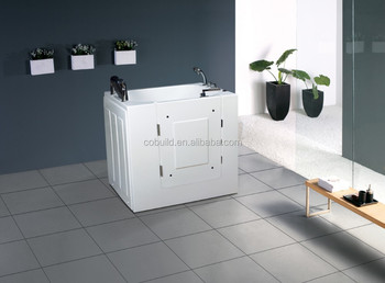 China Acrylic Walk In Safe Wheelchair Bathtub For Disabled - Buy ...