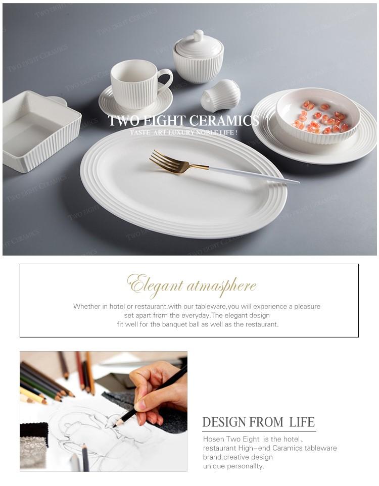 product-Two Eight-Hotel Tableware Supplierd Tableware Set Dinnerware Set Porcelain, Restaurant Moder