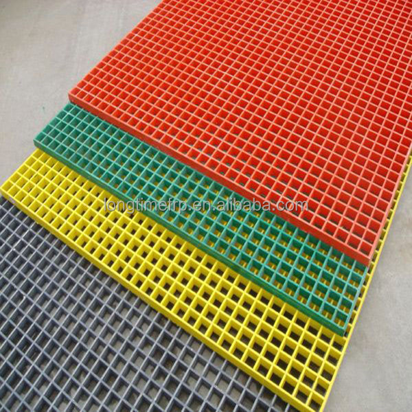 Pvc Fiberglass Floor Grating Transparent Fiberglass Molded