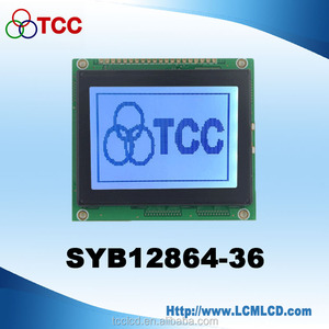 China 3 inch lcd display 128X64 STN touch screen ST7920 controller panel 128*64 graphic lcd module