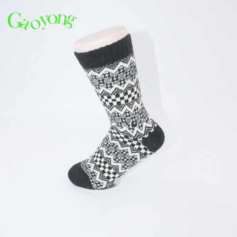 Finest Price thick winter men's wool fashion men socks