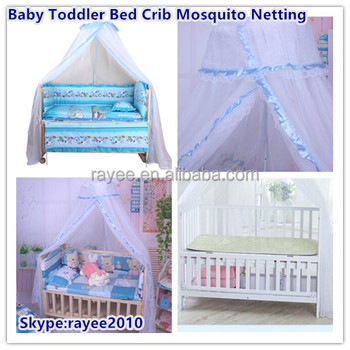 Baby Toddler Bed Crib Mosquito Netting Canopy Lace Curtain Dome Cot Mosquito Net Mosquito Bug Proof  sc 1 st  Wholesale Alibaba & Baby Toddler Bed Crib Mosquito Netting Canopy Lace Curtain Dome ...