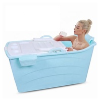 Xitai Cheap prices PP Plastic Portable Bathtub for Adults freestanding bath tub