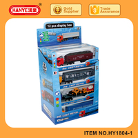 Toy vehicle 1:64 Diecast model truck toys for kids