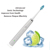 Rechargeable sonic electric toothbrush with spare replaceable brush head