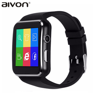 New Smartwatch X6 Bluetooth Smart watch with SIM card for Apple iPhone & Samsung Android smartphone