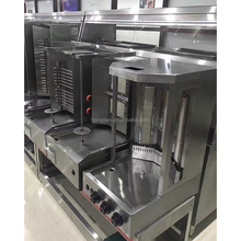 electric stainless steel shawarma broiler equipment