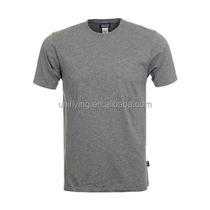 Wholesale Summer 100%Cotton Sports Plain T-shirt for man