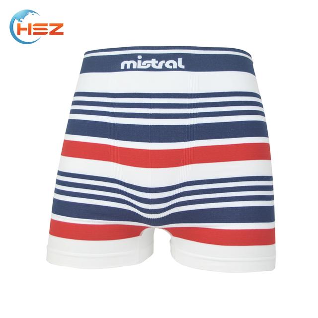 121fffb44fd HSZ-0044 Comfort Breathable 2017 Sexy Crazy Underwear For Black Men Vintage  Striped Boxer Seamless