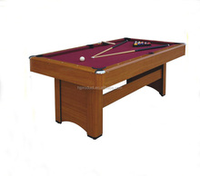 6ft 7ft 8ft MDF table <span class=keywords><strong>de</strong></span> <span class=keywords><strong>billard</strong></span> jeu 8 ball pool table avec prix raisonnable