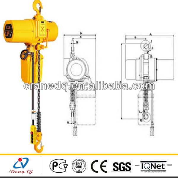 HSY Type 5ton Electric Chain Hoist