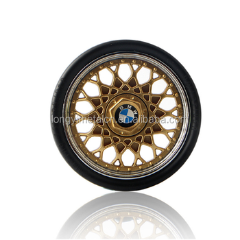 Christmas Gift Cool Car Tires Hand Spinner Luxury Wheel Hub Fidget - Cool car tires