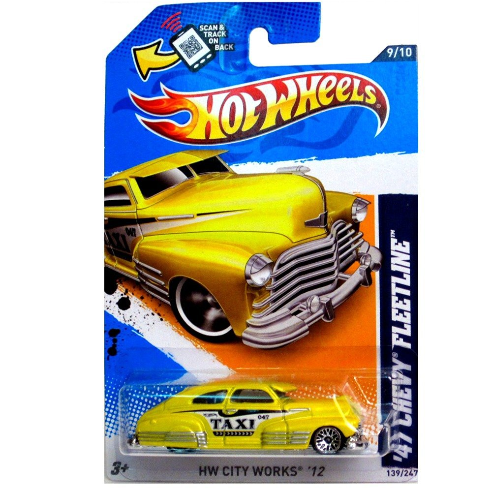 Cheap 1949 Chevy Fleetline For Sale Find 1951 Car Wire Diagram Get Quotations Mattel Hot Wheels Hw City Works 12 Yellow Taxi 47 9