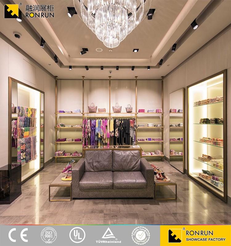 Rcs2196 Wholesale Garment Retail Store Furniture/clothing