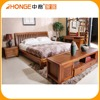 8A008 Antique bedroom furniture set with sliding wardrobe