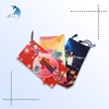 promotional small cheap drawstring cotton mobile bag