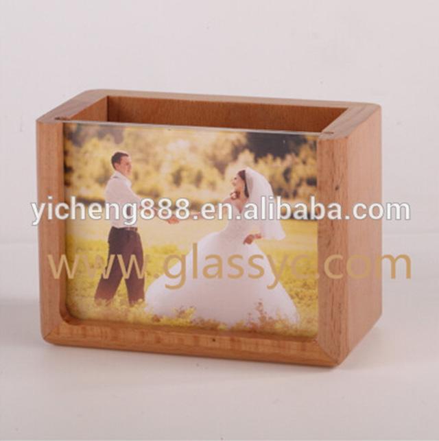90th Anniversaire Present Personnalisé en bois cadre photo 6x4 7x5 8x6 ou A4 T